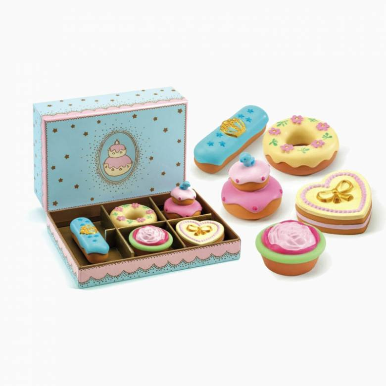 Box Of Princess Cakes By Djeco 3+