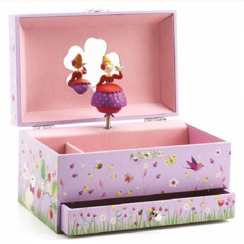 Princess's Melody Music Box With Drawer