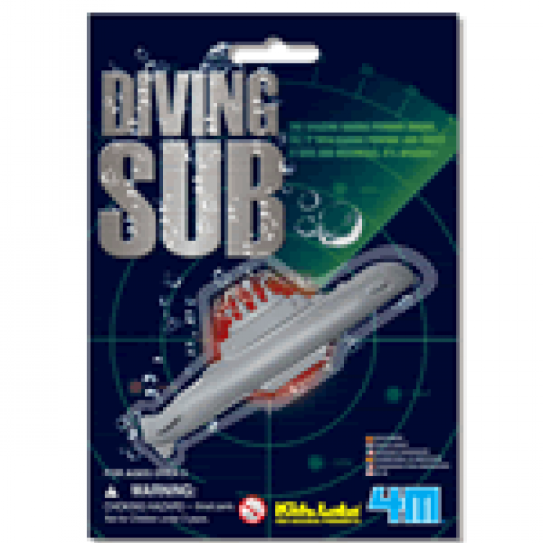 Diving Submarine Mini Bath Toy Kidz Labs