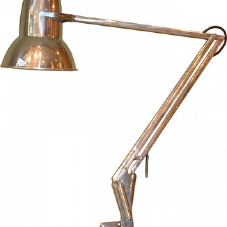 Original 1930s Restored Anglepoise Wall Lamp Type 1227 Chrome