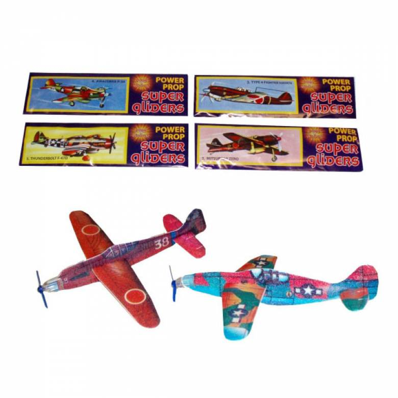 Polystyrene Glider Plane Assorted Models 3yr+