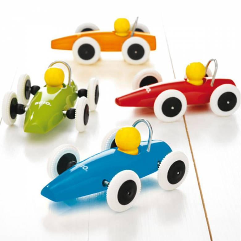 Wooden Racing Car By BRIO 1+