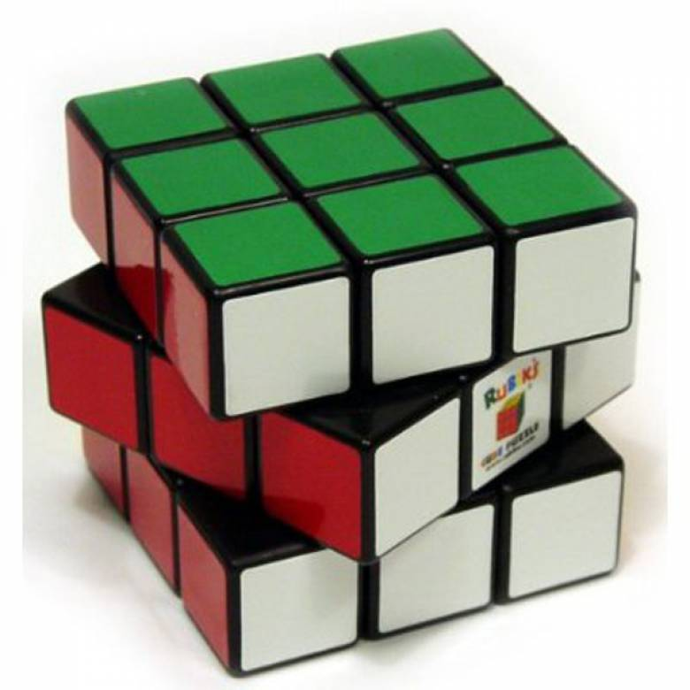 Rubiks Cube Classic Boxed Cube With Instructions 8+
