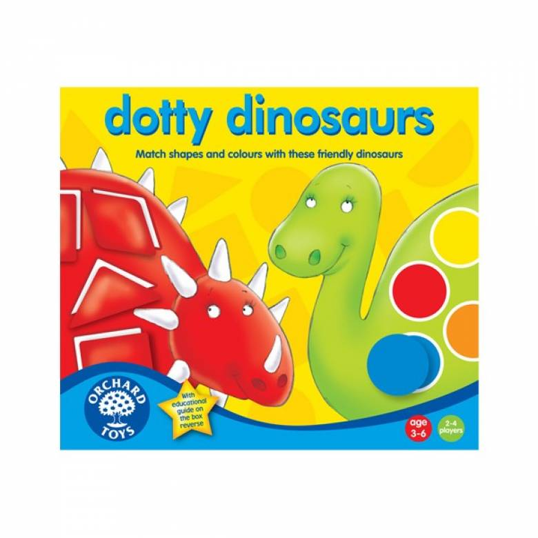Dotty Dinosaur Game By Orchard Toys 3-6yrs