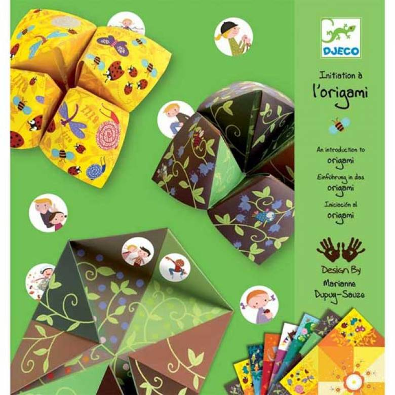Animal Fortune Tellers - Origami Craft Kit 6+