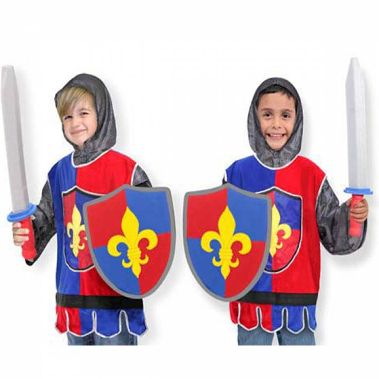 Knight Fancy Dress Role Play Costume Set