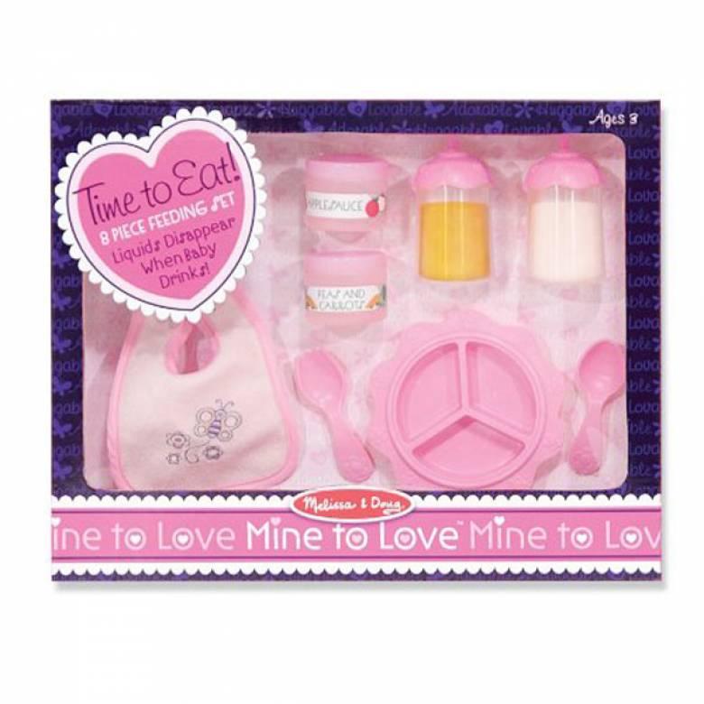 Time To Eat Baby Doll Feeding Set 3+