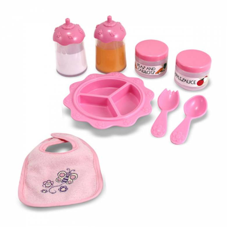 Time To Eat Baby Doll Feeding Set 3+