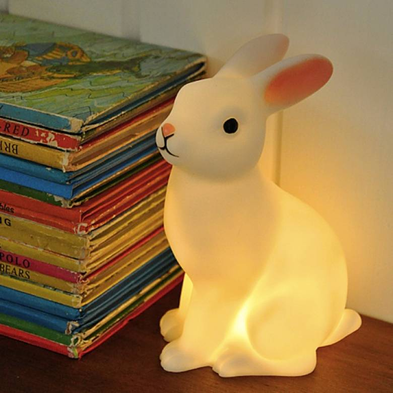 Woodland Rabbit Battery Night Light