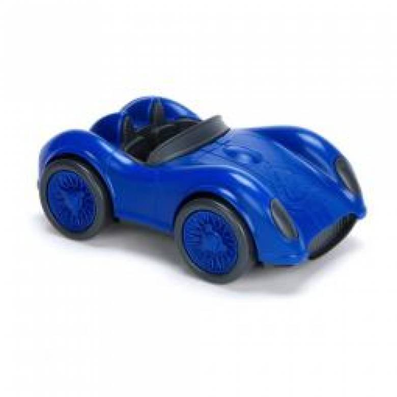 Blue Racing Car/ Race Car - Green Toys Recycled Plastic 3+