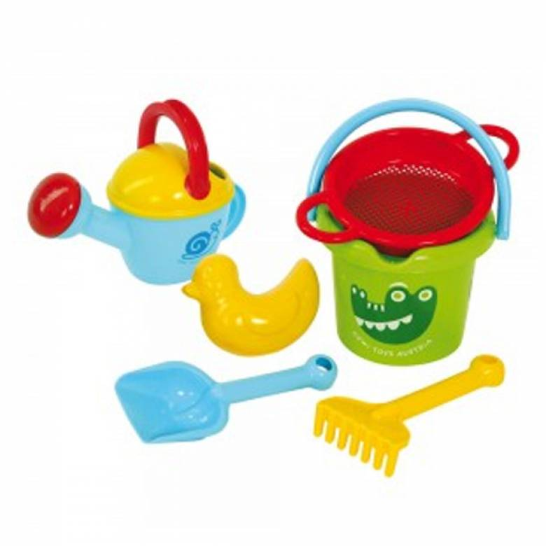 Bucket and Watering Can Sand Duck Set 12 Mth+
