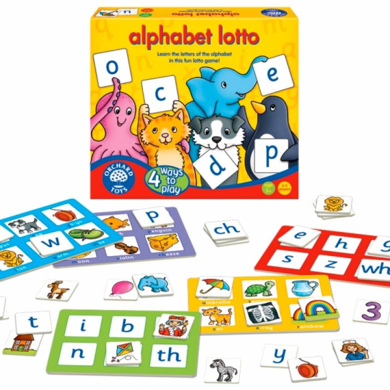 Alphabet Lotto Game By Orchard Toys 3-6yrs