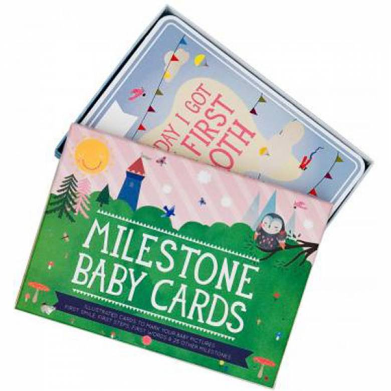 Milestone Baby Cards By Beci Orpin