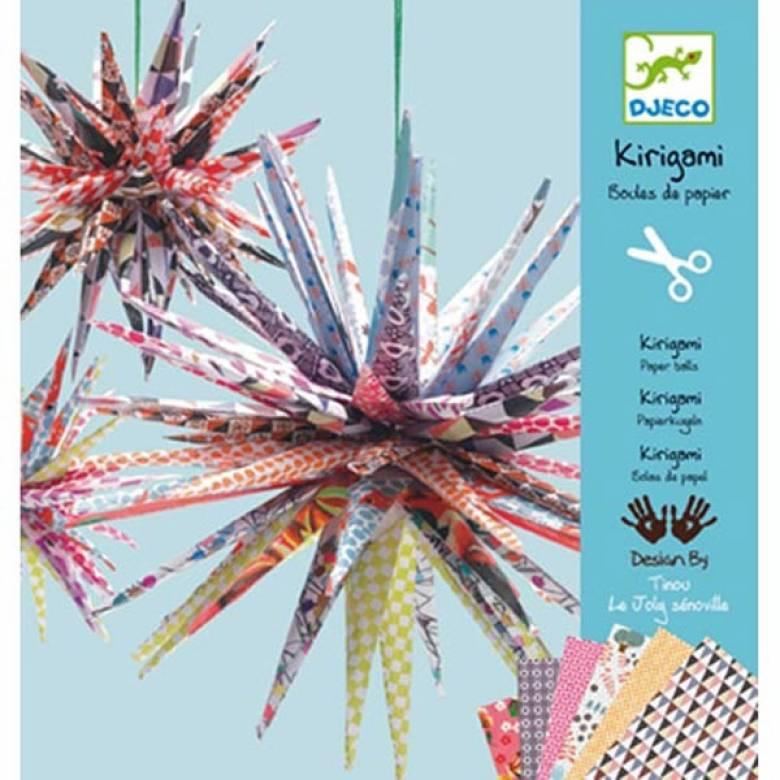 Kirigami Paper Balls - Origami Craft Kit 7+