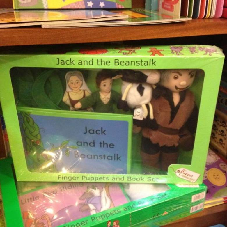 Jack And The Beanstalk Storytime Puppet Set