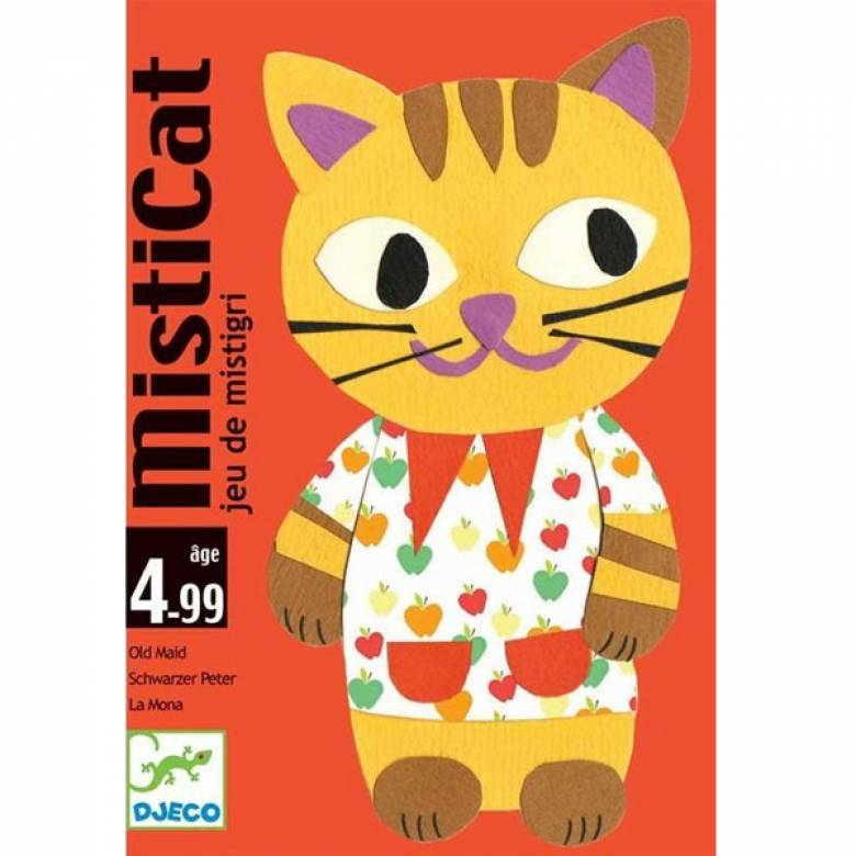 Misticat Game With Cards Age 4-99yrs!