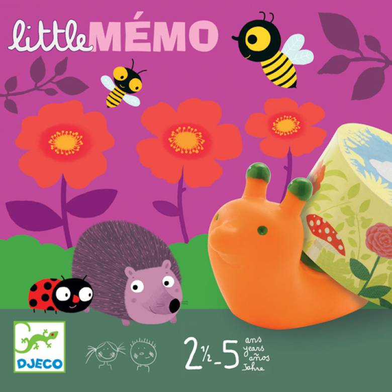 Little Memo Game By Djeco Age 2.5-5yrs