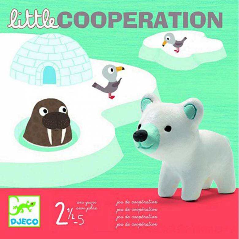 Little Cooperation Game By Djeco Age 2.5-5yrs