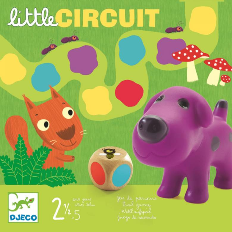 Little Circuit Game By Djeco 2+