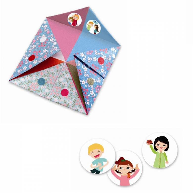 Flower Fortune Tellers - Origami Craft Kit 6+