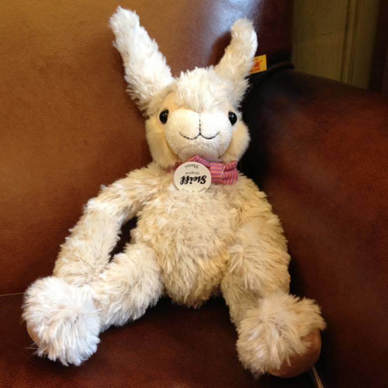 Manni Soft Toy Brown Rabbit 15cm By Steiff