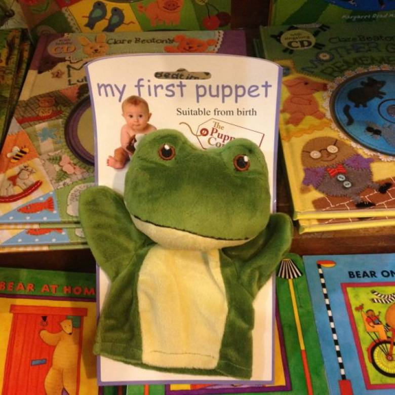 Frog - My First Puppet 0+