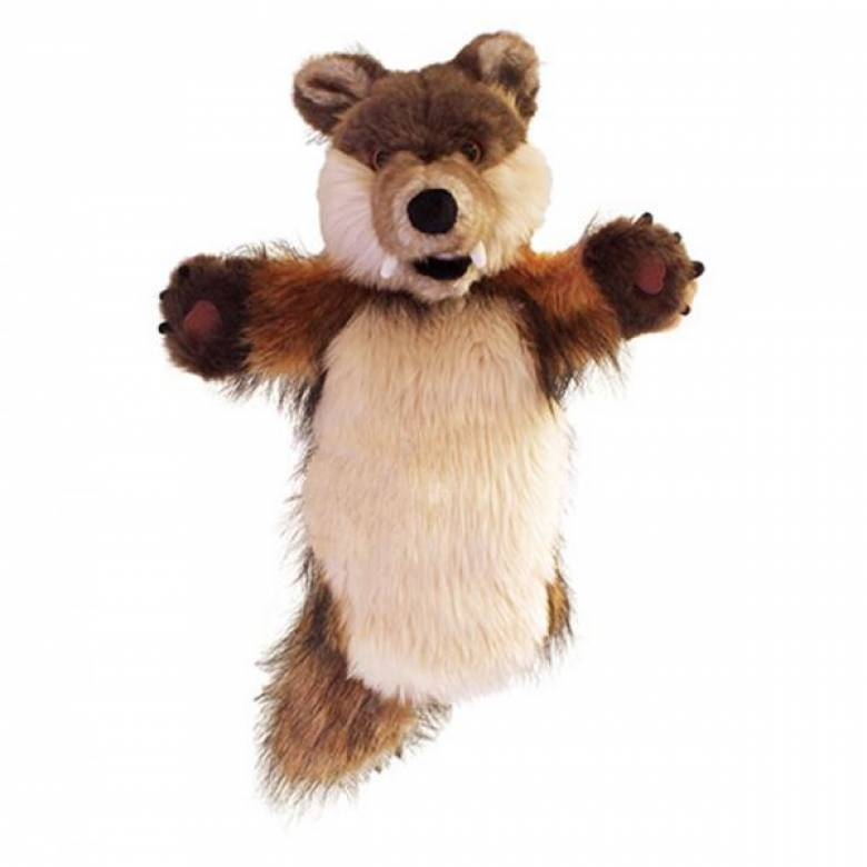 WOLF Long Sleeved Glove Puppet