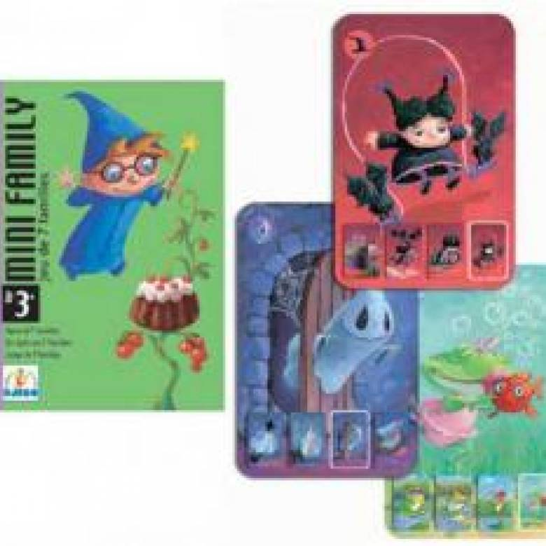 Mini Family Card Game - By Djeco 4-7yrs
