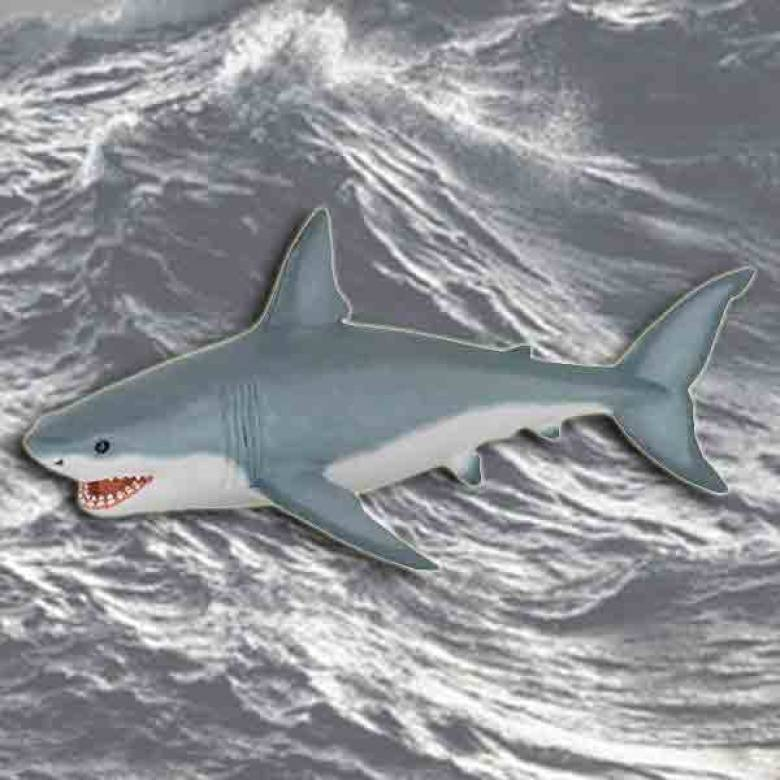 Great White Shark PAPO WILD ANIMAL