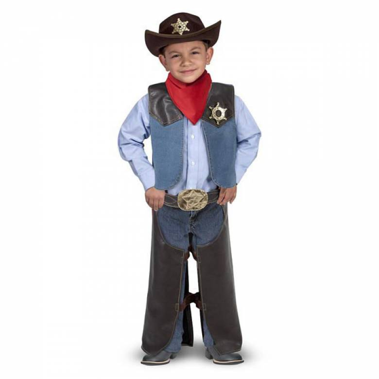 Fancy Dress Role Play Costume Set - Cowboy
