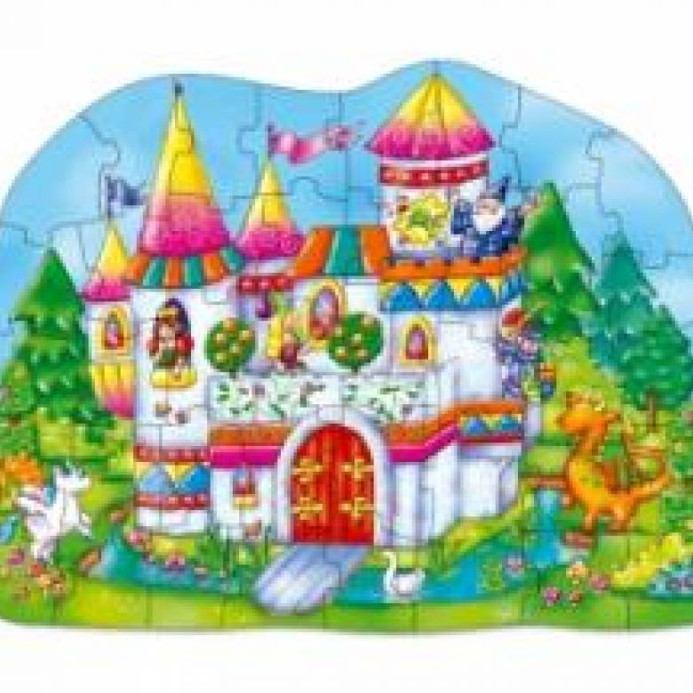 Big Magical Castle Puzzle Jigsaw By Orchard Toys 3-6yrs