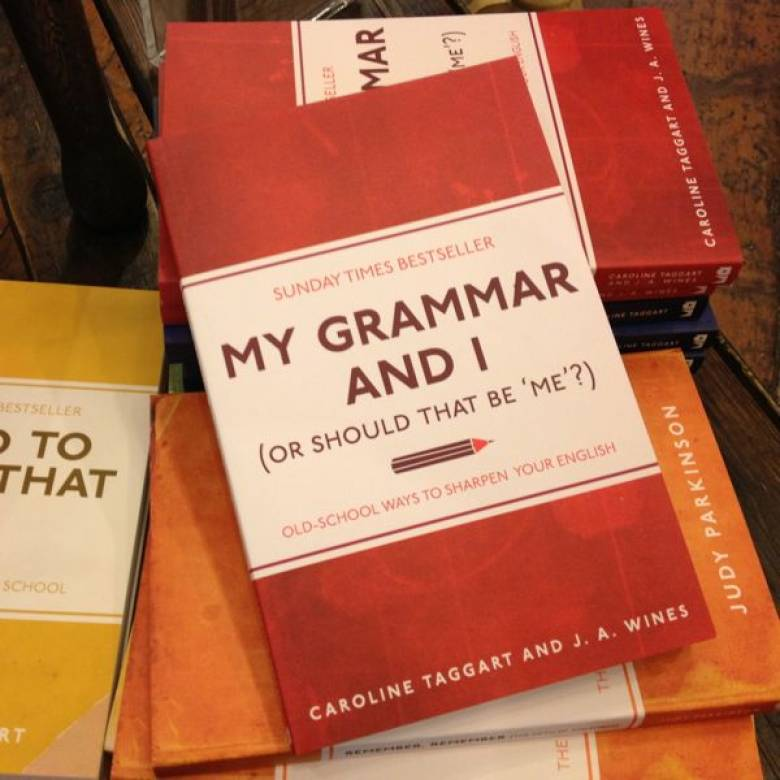 My Grammar And I Paperback Book