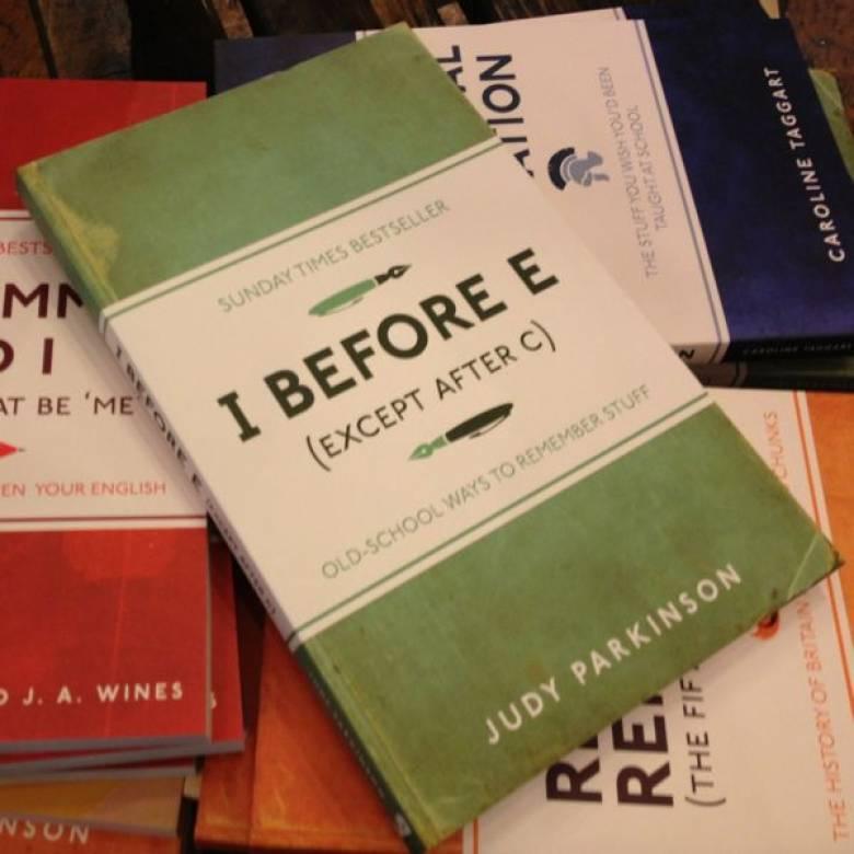 I Before E Paperback Book