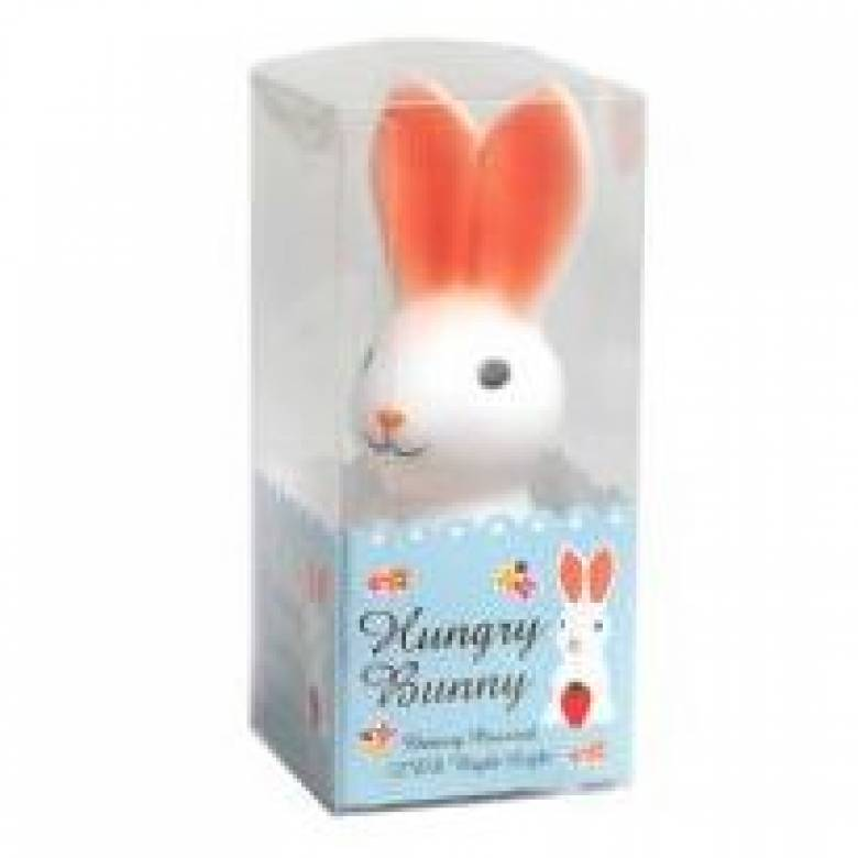 Hungry Bunny Rabbit Battery Night Light