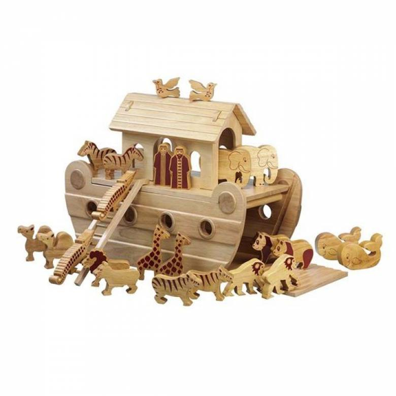 Giant Noahs Ark Made From Natural Wood