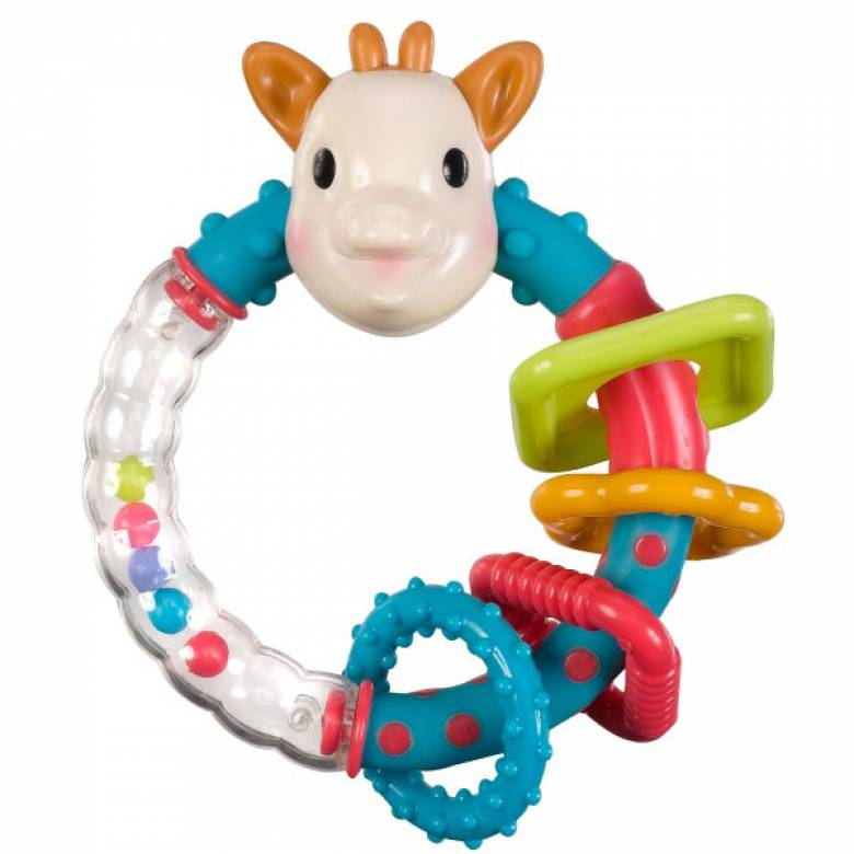 Sophie La Girafe/ Multi Textured Rattle Teether Boxed