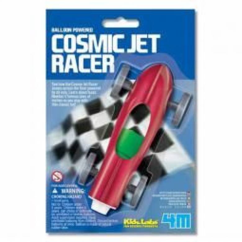 Balloon Jet Car Cosmic Jet Racer