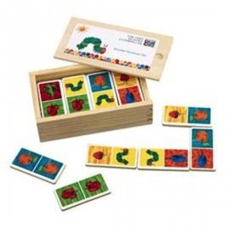 Hungry Caterpillar Wooden Dominoes 18mth+