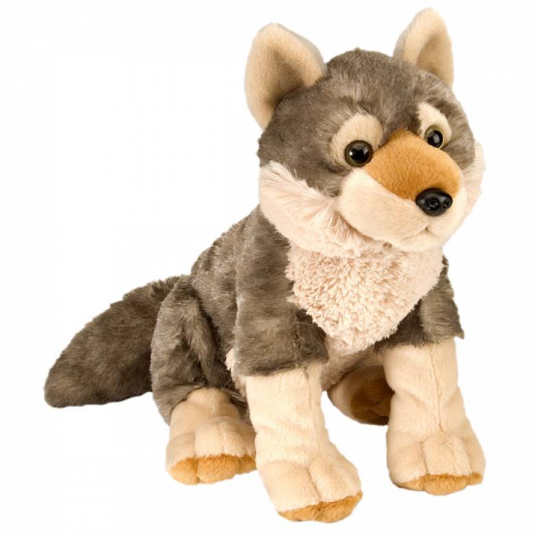 Wolf Cuddlekin Animal Soft Toy 30cm