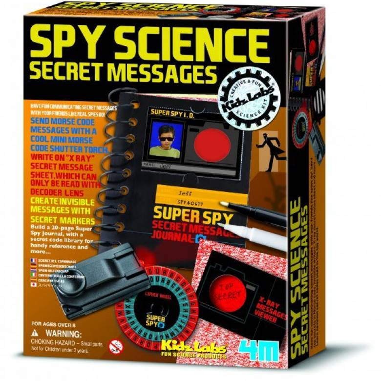 Spy Science Secret Messages - Kidz Labs 8yr+