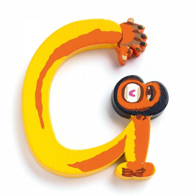 LETTER G- DJECO Animal Letter Decorative Alphabet Letter
