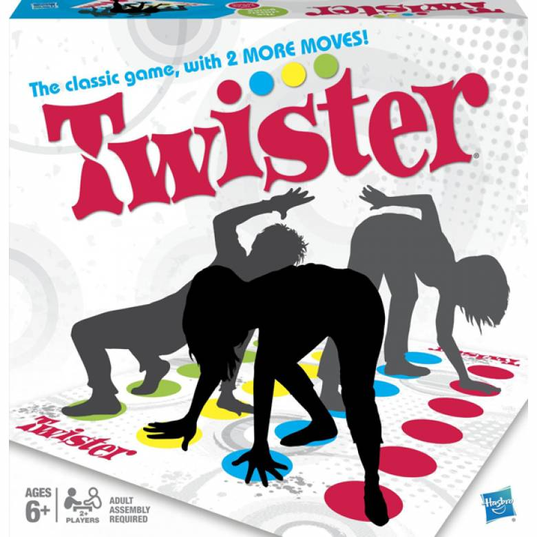 Twister RETRO MB Game 6yrs+