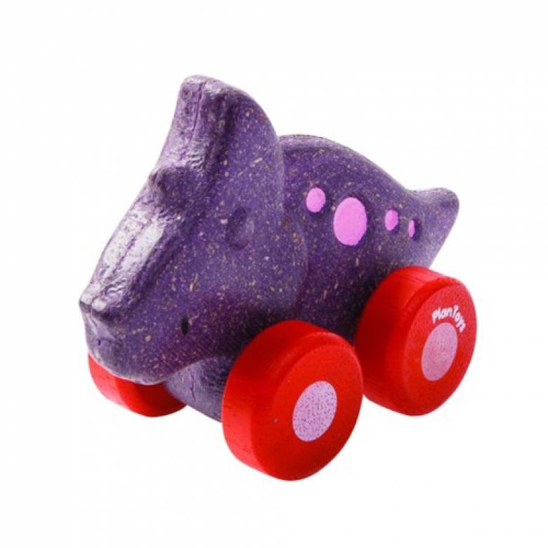 Dino Car - Trio - Plan Toys 12m+