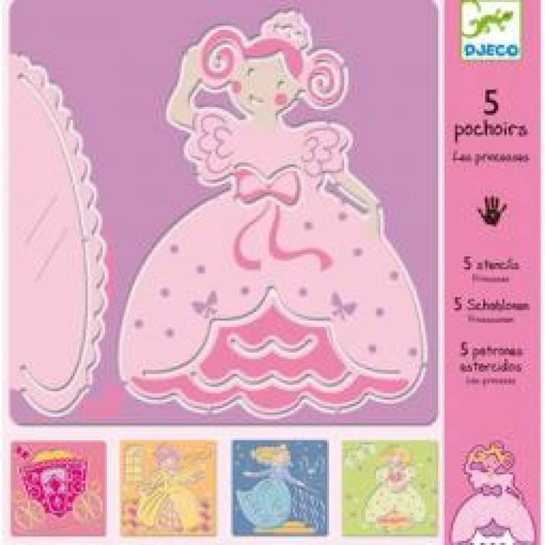Princess Stencils Djeco