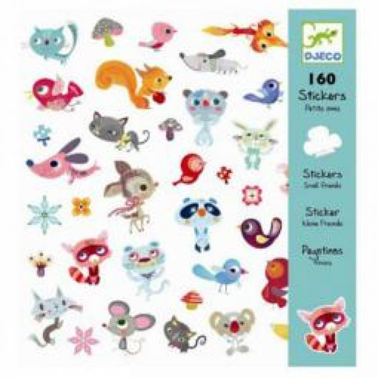 Little Friends - Stylish 160 Piece Sticker Pack