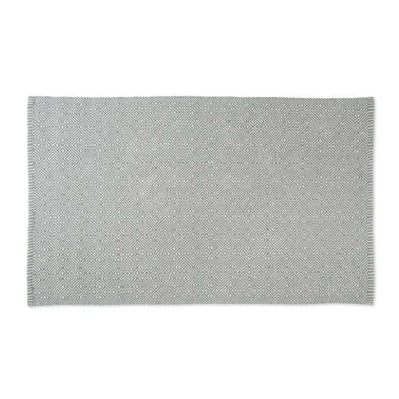 Provence GREY 110x60cm Recycled Bottle Rug