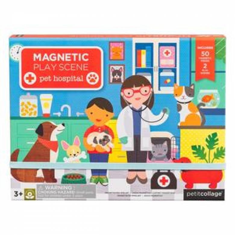 Pet Hospital - Magnetic Play Scene Set 3+