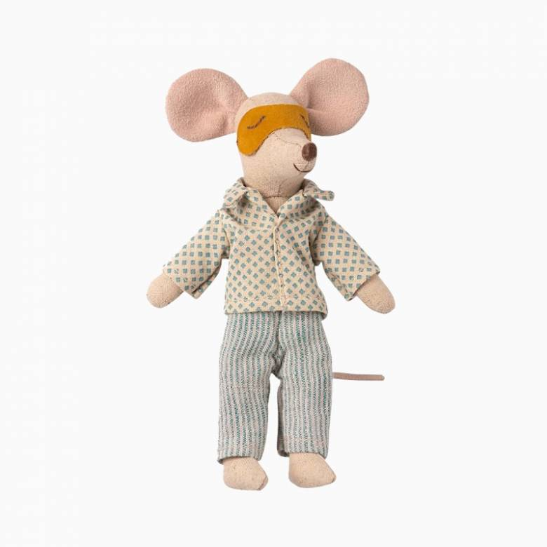 Pyjamas For Mouse Dad Soft Toy By Maileg