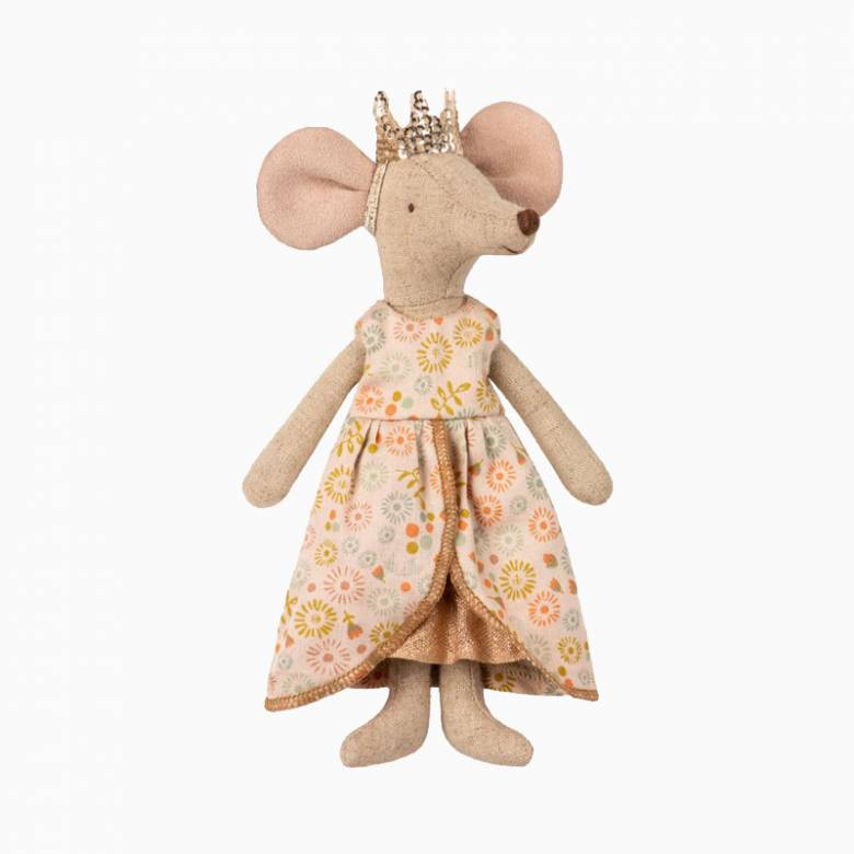 Mouse Queen Soft Toy By Maileg