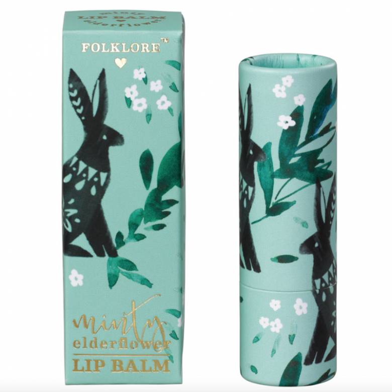 Folklore Rabbit Lip Balm Minty Elderflower